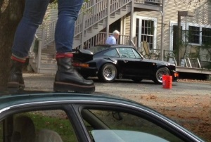 The Porsche 911. The Orthodontist. Yes, I'm still standing on the roof of my car.
